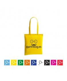 Bolsas de tela publicitarias economicas amarillas