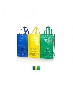 Bolsas de reciclaje 3 Uds