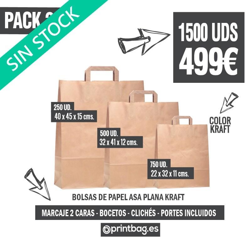 18bb4ddda Ofertas bolsas de papel kraft económicas publicitarias