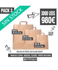 ofertas bolsas de papel baratas