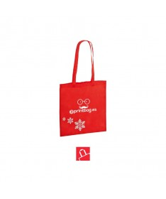 Bolsas de tela navideñas