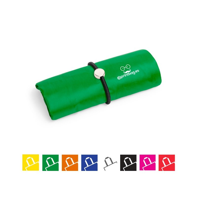 Bolsas plegables con elástico