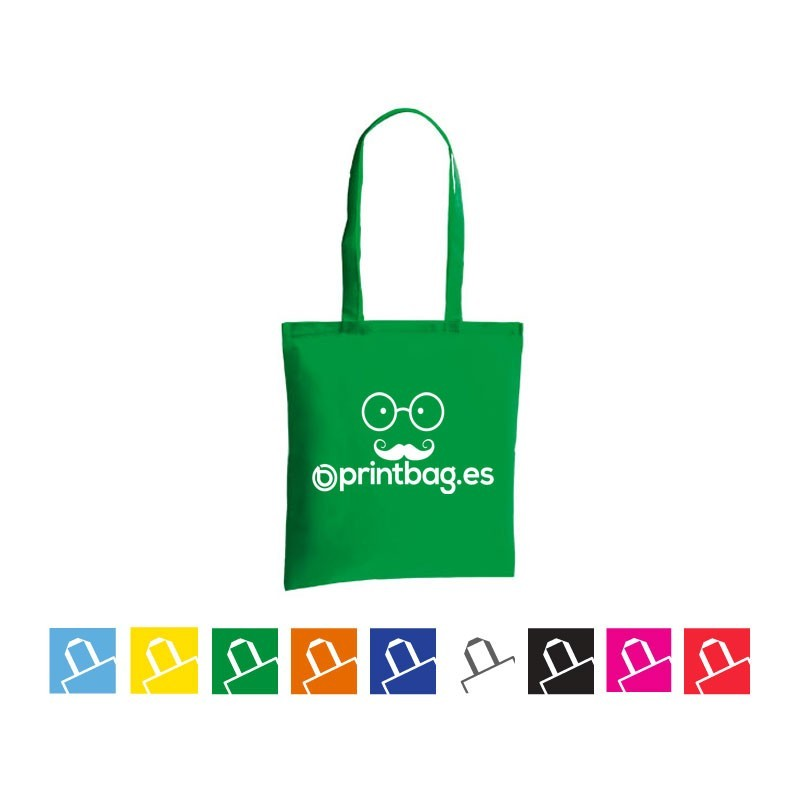 Bolsas de tela publicitarias economicas verdes