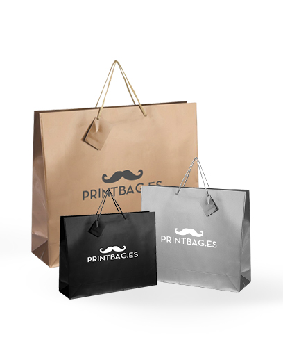 Bolsas de papel de lujo