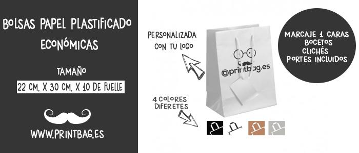 bolsas publicitarias plastificadas charol
