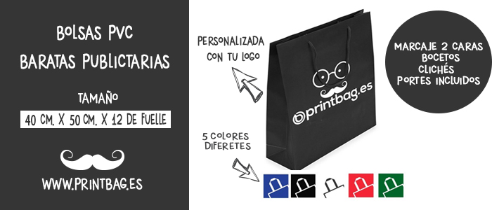 bolsas de pvc baratas para comercios