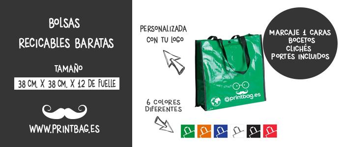 bolsas reciclables baratas